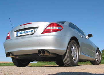 Eisenmann Stainless Axleback Exhaust 4x83mm Round Tips Mercedes-Benz SLK350 05-08 - D7257.00831