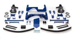 Fabtech 6in Basic Lift System GMC Sierra 1500 4WD 07-08 - K1024