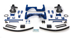 Fabtech 6in Basic Lift System Chevrolet Silverado 1500 2WD 07-08 - K1027