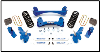 Fabtech 7.5in Performance Crossmember System Ford F-250 97-04 - K2008
