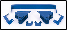 Fabtech 3.5in Spring Hanger System Ford Excursion 4WD 00-05 - K2025