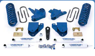 Fabtech 6in Basic Lift System Ford F-250 Super Duty 2WD 08 - K2062