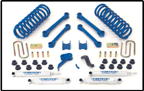 Fabtech 4.5in Performance Lift System Dodge Ram 2500-3500 4WD Diesel 03-07 - K3006