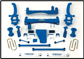 Fabtech 6in Basic Lift System Nissan Titan 04-08 - K6000