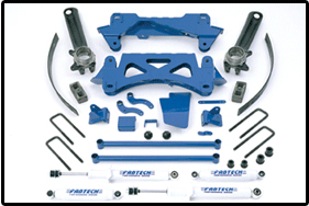 Fabtech 6in Performance System Toyota Tacoma 6 Cyl 99.5-04 - K7002