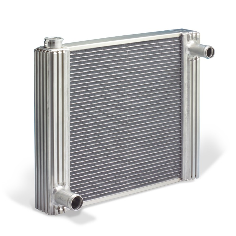 Flex-A-Fit Aluminum Radiator for Jeep CJ with GM Engine Conversion 72-86