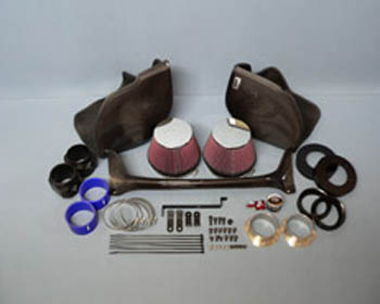 Gruppe M Ram Air Intake System BMW E63 E64 M6 05-10 - FRI-0314