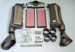 Gruppe M Ram Air Intake System Mercedes Benz R230 SL500 01- - FRI-0402