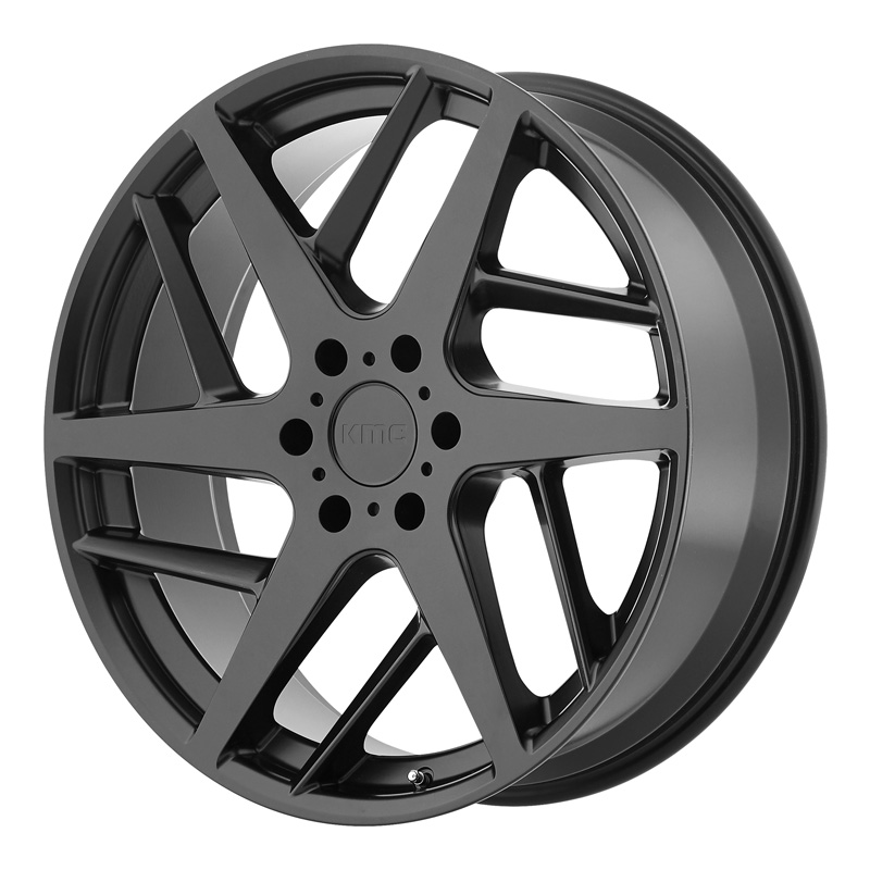 KMC KM699 Satin Black 22x9 5x127.00 35