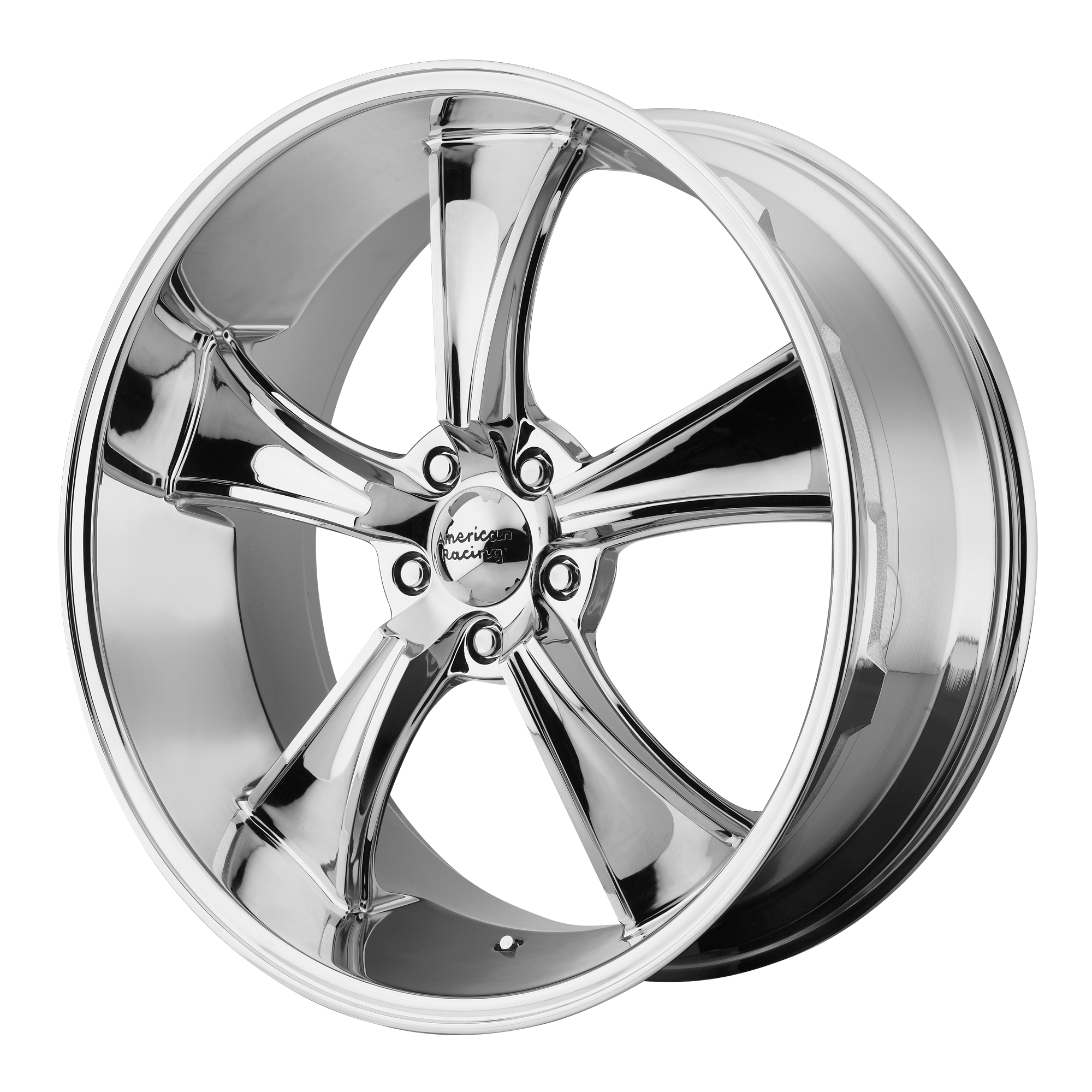 American Racing Blvd Chrome 18x9.5 5x120.65 0