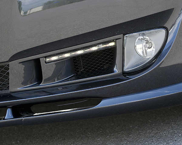 Hamann Bumper Moldings w/ Led Daytime Running Lights BMW 5 Series 10-12