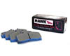 Hawk Blue 9012 Race Rear Brake Pads Subaru WRX 06