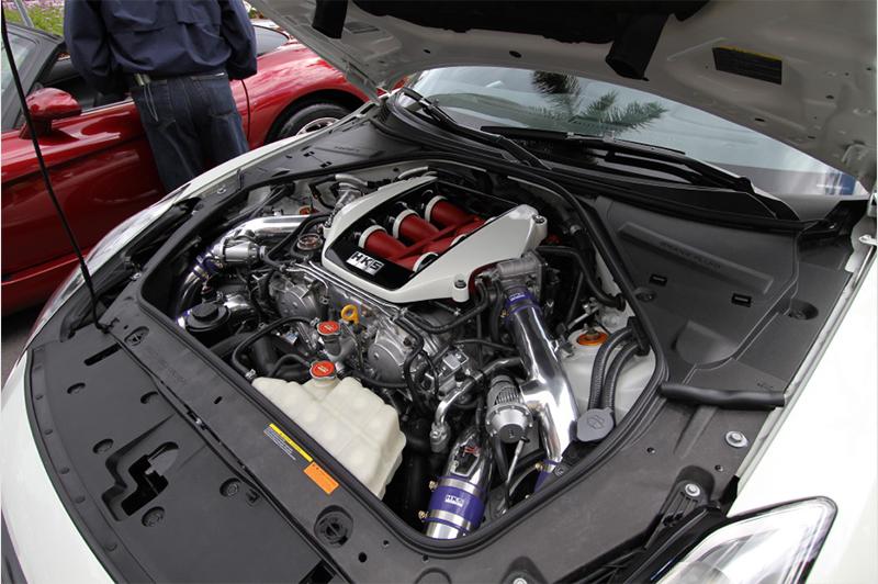 HKS GT570 Racing Package Nissan Skyline R35 GT-R R35 09-18 - 14033-AN001