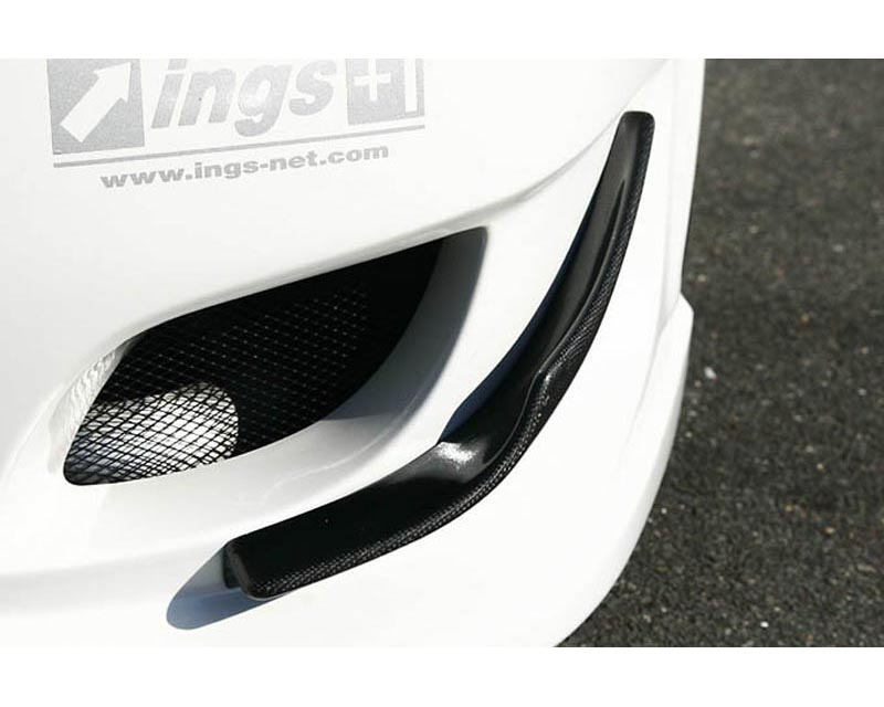 INGS N Spec FRP Front Canards Mitsubishi EVO X 08-12 - 00152-01102