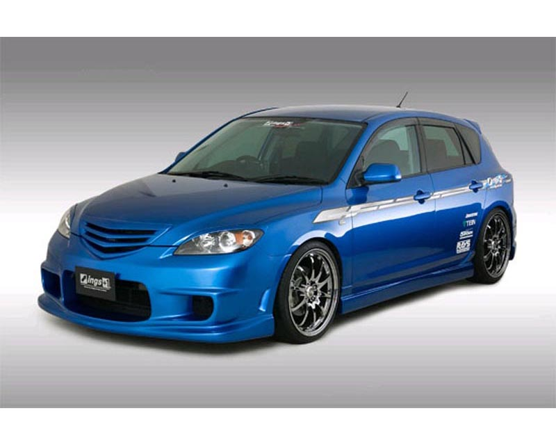 INGS N-Spec 3 pc Body Kit Hybrid Mazda 3 JDM 10/03-5/06 - 00129-01801