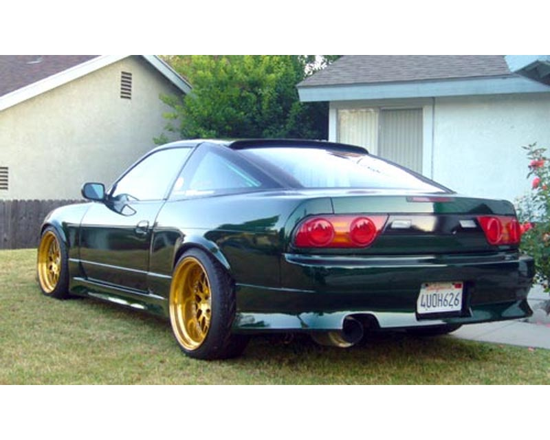 JP Type 1 Side Skirts Nissan 180SX S13 89-94 - JP 180 TYPE-1 SS