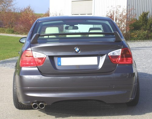 Kerscher Spirit Rear apron w/o Carbon Diffuser BMW 3 Series E90 06-11 - 3063361/1KER