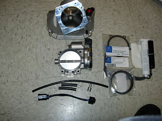 Kleemann Throttle Body Mercedes-Benz G Class V8 AMG Kompressor W463 94-09 - KLM-TB-V8-W463