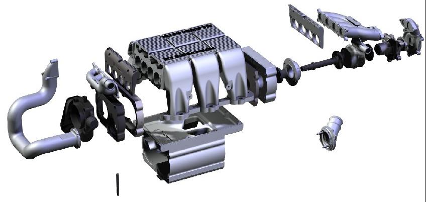 Kleemann M112 SuperCharger System Mercedes C240 & C280 V6 W202 95-00 - KLM-KOM-V6-W202