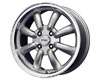 Konig Rewind 15X7  4x100  20mm Silver Machined Lip