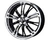 Konig Unkown 17X7  4x108/100  40mm Black