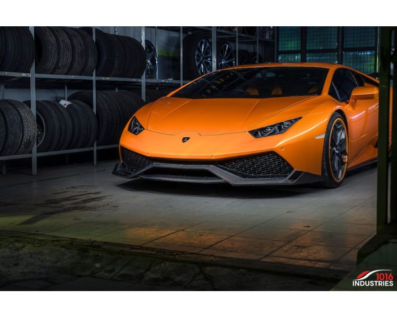 1016 Industries Renato Wing carbon base V1, V2, Vision Applicable Lamborghini Hurucan LP610-4 18-19 - 1016.610.11