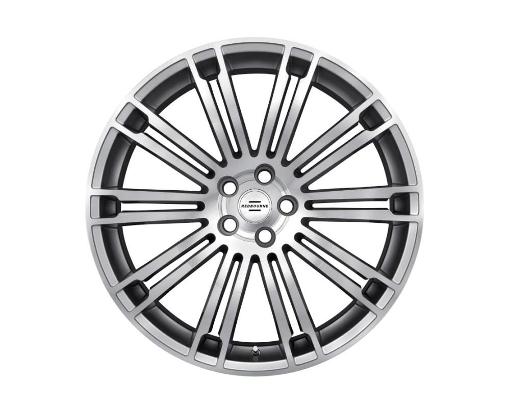 Redbourne Manor Silver w/ Mirror Cut Face Wheel 22x9.5 5x120 32mm CB72.6 - 2295RMR325120S72