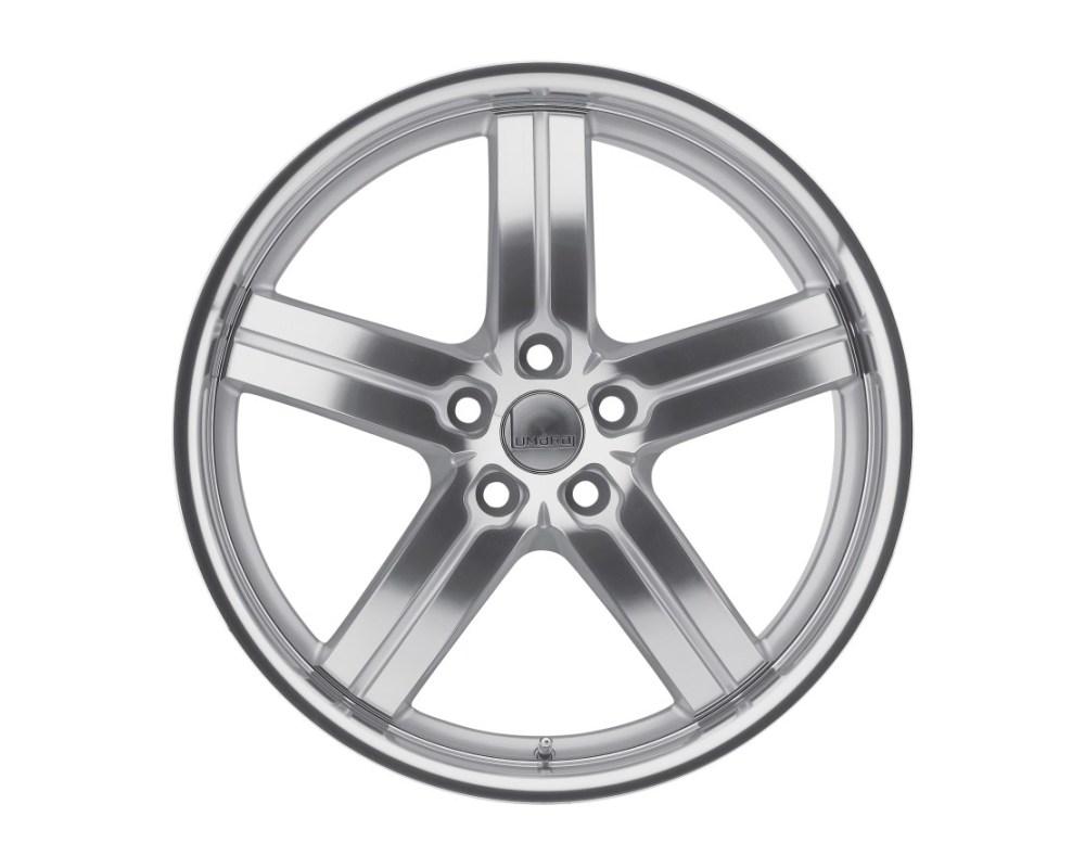 Lumarai Morro Silver w/ Mirror Cut Face & Lip Wheel 18x9.5 5x114.30|5x4.5 44mm CB60.1 - 1895LUM445114S60