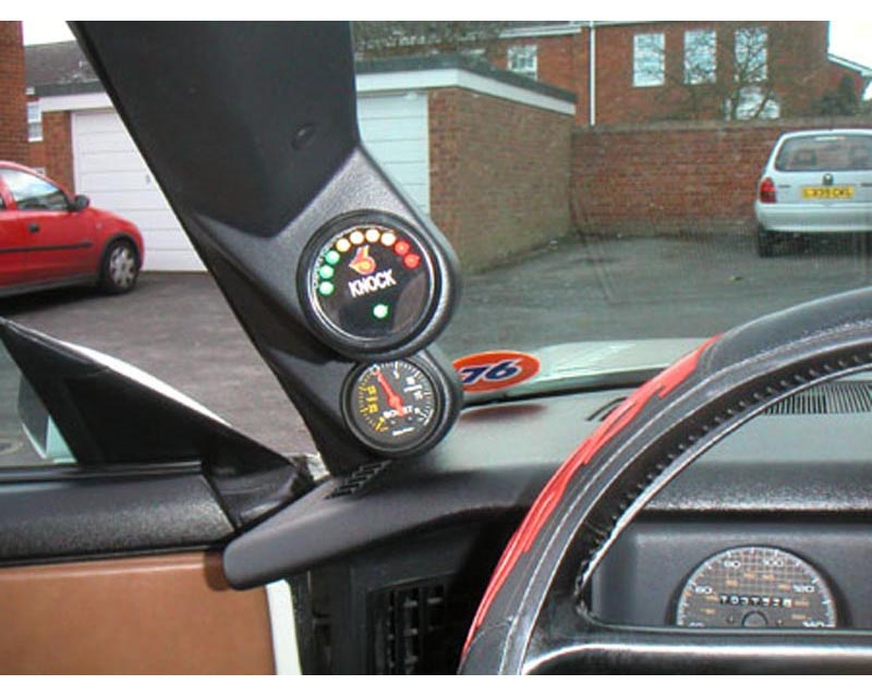 Lotek Dual A-Pillar Pod Chevrolet Camaro 82-92 - LTK-FBODY8292-2PLR