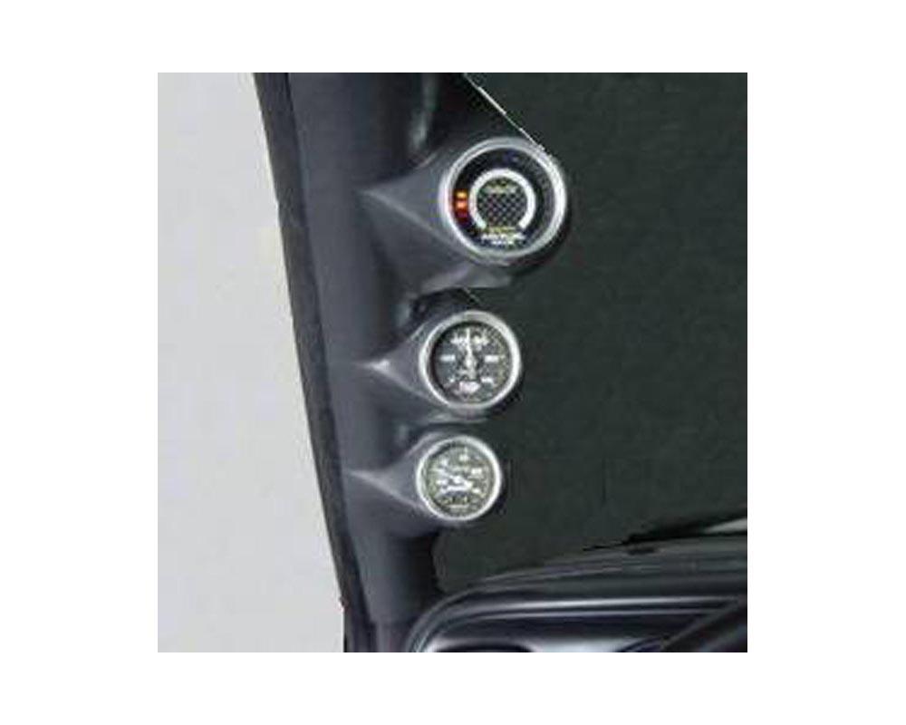 Lotek Triple A-Pillar Pod Dodge Dakota 97-01 - LTK-DAKOTA-3PLR
