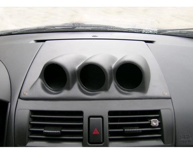 Lotek Triple Bullet Pod Dash Panel Mazda 3 03-09 - LTK-MAZDA3-3DSH