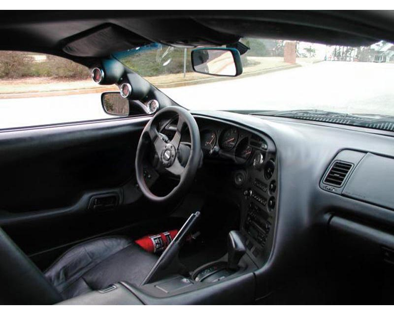 Lotek Triple A-Pillar Pod Toyota Supra 93.5-02 - LTK-SUPRA9302-3PLR