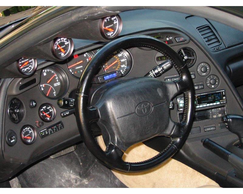 Lotek Dual A-Pillar Pod Toyota Supra 93.5-02 - LTK-SUPRA9302-2PLR