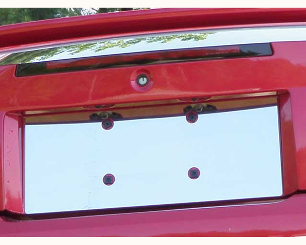 Quality Automotive Accessories 1-Piece License Plate Bezel Ford Mustang 2003 - LP39351
