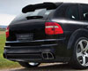 Mansory Carbon Fiber Cover For Rear Diffuser Porsche Cayenne 03-07