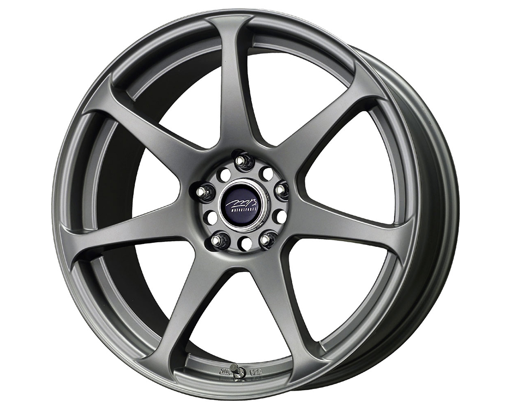 MB Wheels Battle Wheels 17X9 Matte Gunmetal