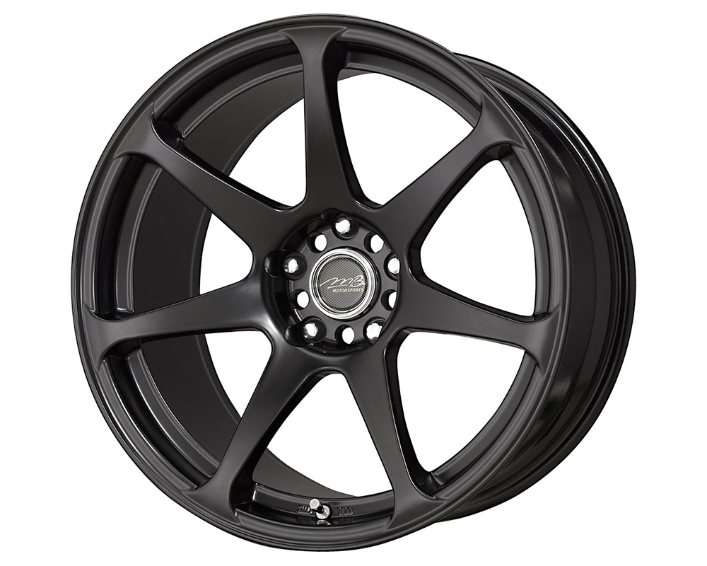MB Wheels Battle Wheels 17X9.5 Matte Black