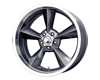 MB Wheels Old School 17X9.5  5x114.3  6mm Gunmetal Machined Lip