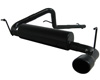 MBRP Black Series Cat Back Single Exhaust Jeep Wrangler JK 3.8L V6 2dr 07-09