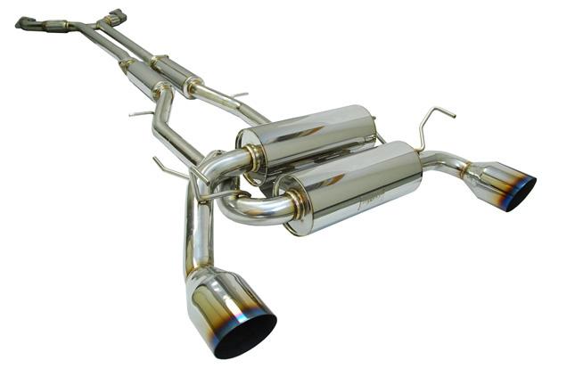MXP True Dual Exhaust System Infiniti G37 08-12 - MXSPCPV36