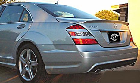 NR Auto L Style Trunk Lip Spoiler Mercedes-Benz S550 221 06-08 - 6221-LTS