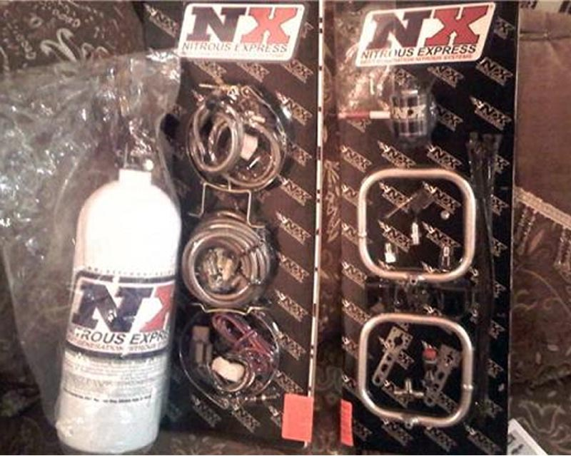 Nitrous Express Dual N-tercooler 5lb Ring System - 22200-05