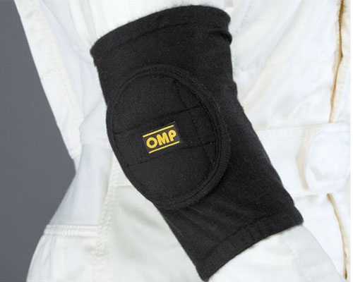 OMP Nomex Elbow Pads Black | Onse Size - ID/791071