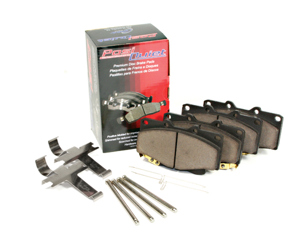 Posi Quiet Ceramic Brake Pads BMW 5-Series 1985