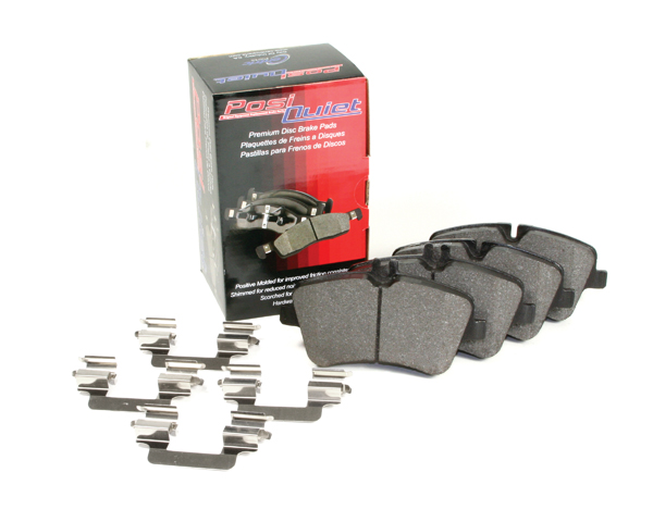 Posi Quiet Semi-Metallic Front Brake Pads Audi 100/200 1989