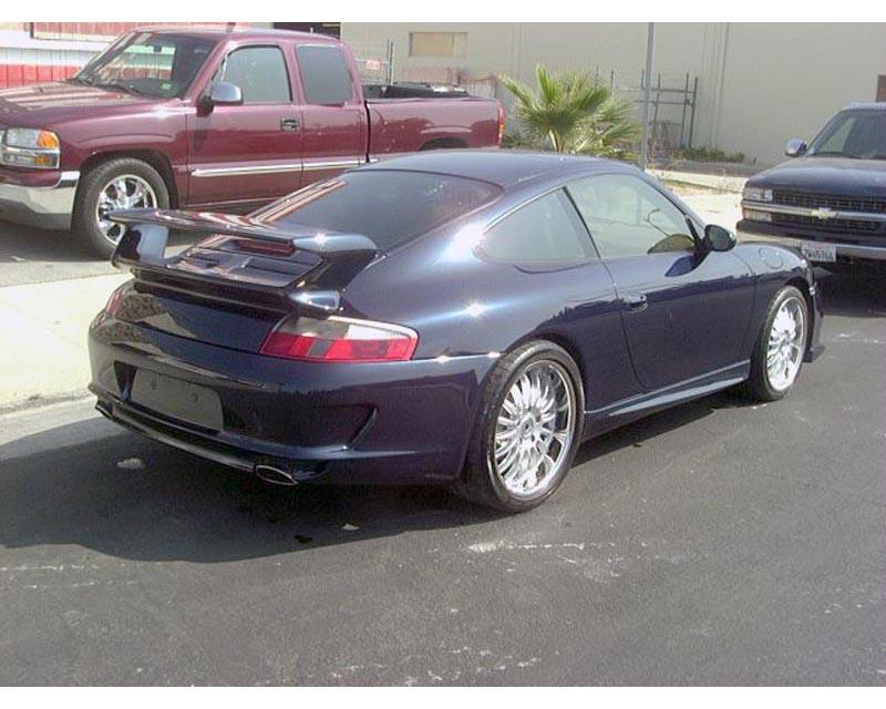 Precision Porsche 08 GT3 Style Rear Wing Spoiler Porsche 996 99-04 - PP-08GT3-RS-996-9904
