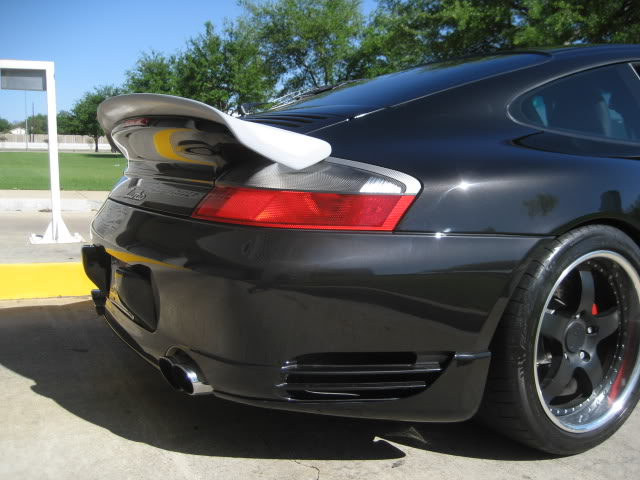 Precision Porsche Strosek Style Wing Porsche 996TT 01-05 - PP-996TT-STRO-WNG