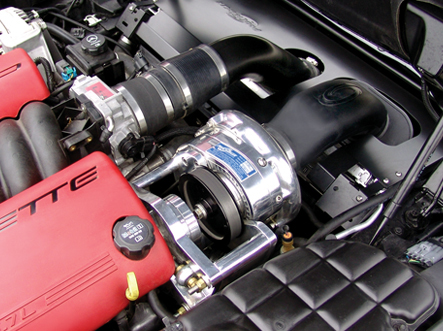 Procharger Stage II Intercooled Supercharger System Chevrolet Corvette C5 Z06 LS6 01-04 - 1GK216-SCI
