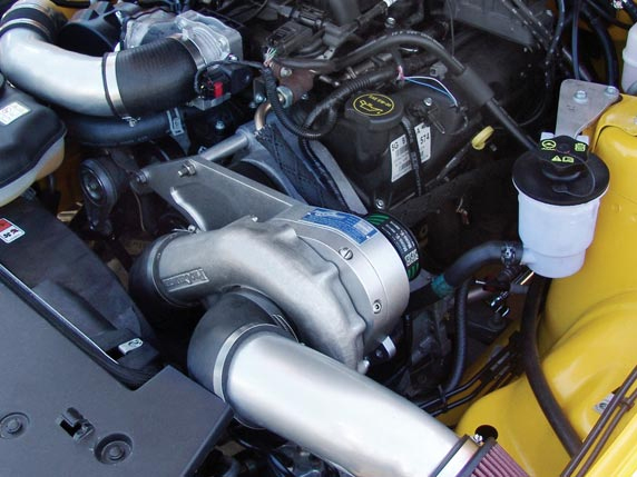 ProCharger Stage II Intercooled Supercharger System with P-1SC Ford Mustang V6 4.0 05-10 - 1FQ212-SCI