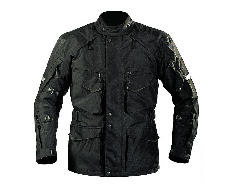 Motonation Apparel Textile Jackets Pursang Tourventure 3/4 Length (Black - XXL) - MNT-TPS-BKBK-7XXL